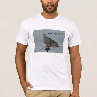 B0038 Snowy Owl T-Shirt