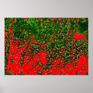b013 AUTUMNfoliagedifcanvasartb- Impresiones