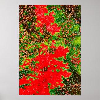 b104 foliagetrees-pastel2b-copya poster