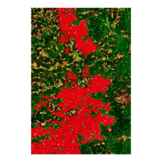 b111 foliagetrees-pastel2b-copya poster