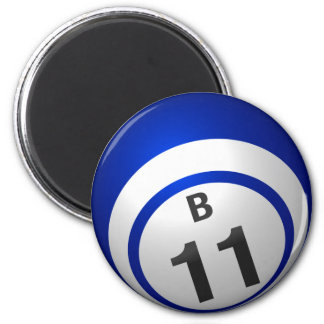 B11 bingo ball magnet