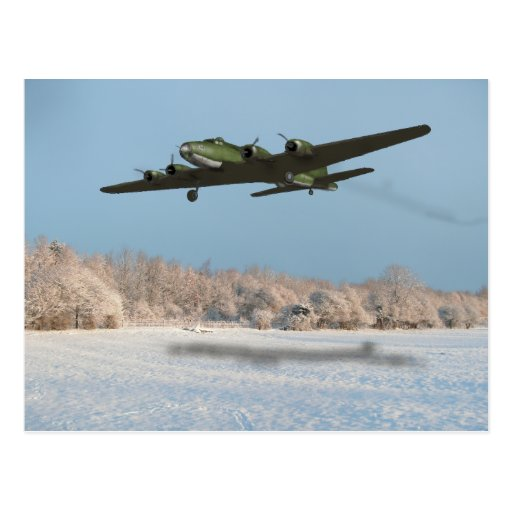 B17 A Norfolk Winter 1943 Postcards