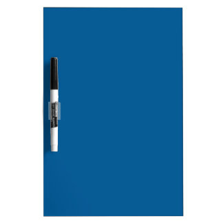 B17 Beneficently Influential Blue Color Dry Erase Board