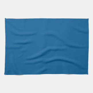 B17 Beneficently Influential Blue Color Kitchen Towel