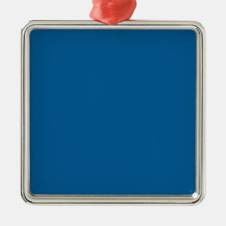 B17 Beneficently Influential Blue Color Metal Ornament