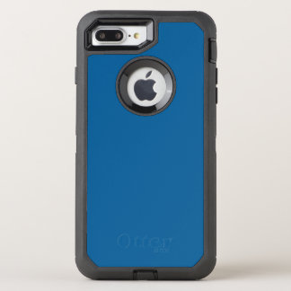 B17 Beneficently Influential Blue Color OtterBox Defender iPhone 8 Plus/7 Plus Case