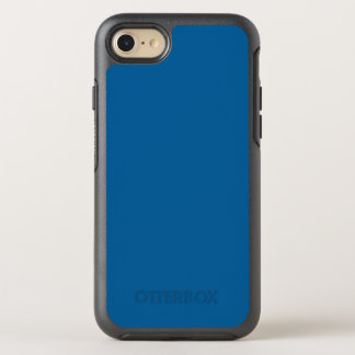 B17 Beneficently Influential Blue Color OtterBox Symmetry iPhone 7 Case