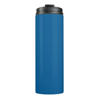 B17 Beneficently Influential Blue Color Thermal Tumbler
