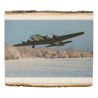 B17 Flying Fortress Aircraft Aviation Wood Panel