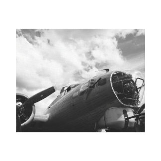 B17 Flying Fortress Canvas Print