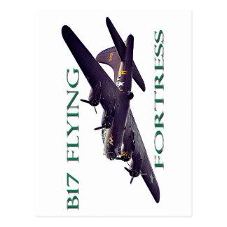 B17 Flying Fortress Postcard