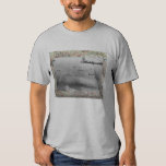 B17 Formation Over WW2 Map Tee Shirt