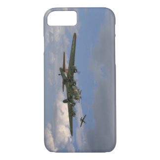 B17, Front Right Angle_WWII Planes iPhone 8/7 Case