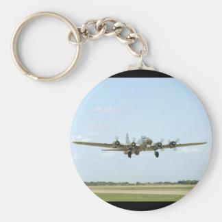 B17, Landing. (plane;b17_WWII Planes Keychain