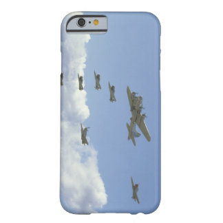B17, Mustang, 5 T6's, In Formation_WWII Planes Barely There iPhone 6 Case