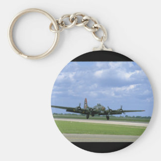 B17 Taking Off, Front Right_WWII Planes Keychain