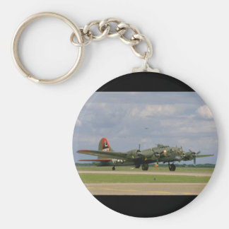 B17 Taxiing, Right Front_WWII Planes Keychain