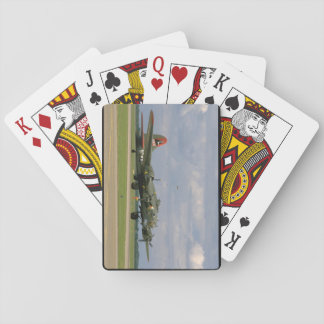 B17 Taxiing, Right Front_WWII Planes Playing Cards