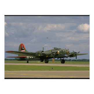 B17 Taxiing, Right Front_WWII Planes Poster