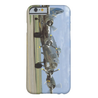 B17, Two Engines Revving_WWII Planes Barely There iPhone 6 Case