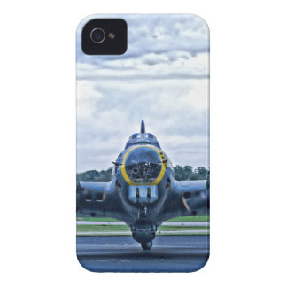 B17 Vintage Airplane Aircraft Flying iPhone 4 Case-Mate Case