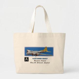 B17G 94th Bomb Group Large Tote Bag