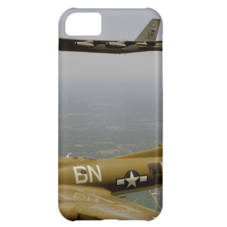 B17G and B52H Bombers in Flight Case For iPhone 5C