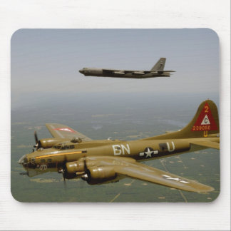 B17G and B52H in Flight Mouse Pad