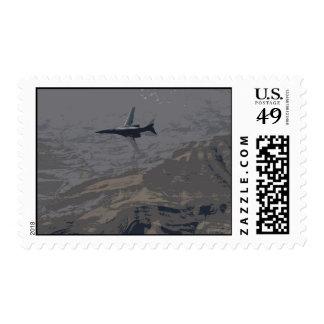 B1-B Lancer  Postage Stamp