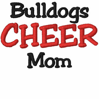 B1 Bulldog Cheer Mom Hoodie