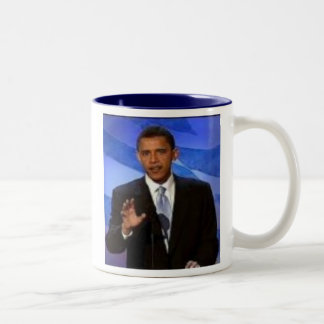 b1, PRESIDENTIAL CAMPAIGN Two-Tone Coffee Mug