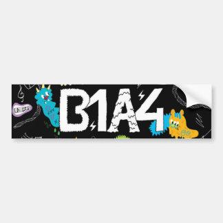B1A4  Sticker Car Bumper Sticker