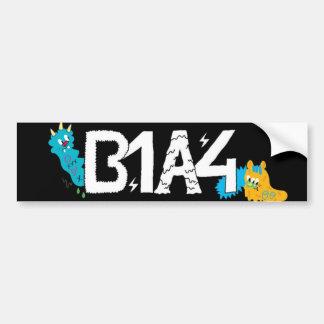 B1A4 Sticker (simple ver.) Car Bumper Sticker