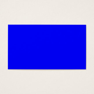B21 Bouncy Bright Blue Color Business Card