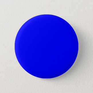 B21 Bouncy Bright Blue Color Pinback Button