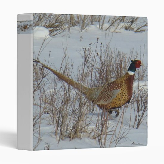 B23 Ring-necked Pheasant Binder