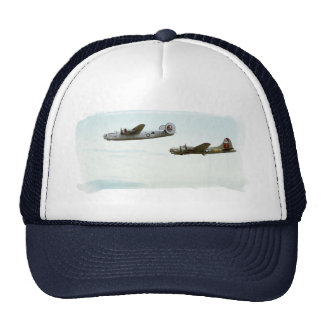 B24 and B17 Flying hat