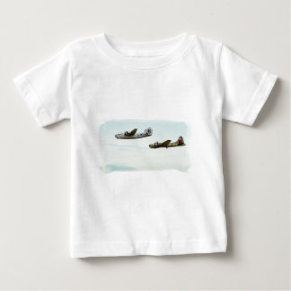 B24 and B17 Flying toddler shirt
