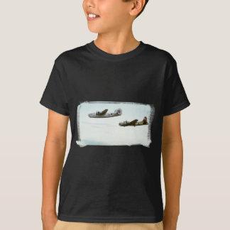 B24 and B17 Flying youth shirt