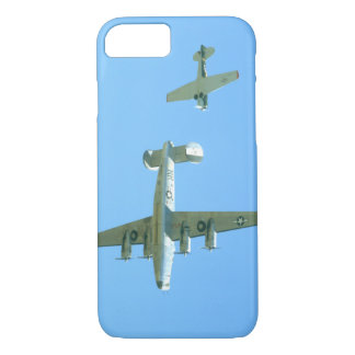 B24 And T6 Overhead._WWII Planes iPhone 8/7 Case