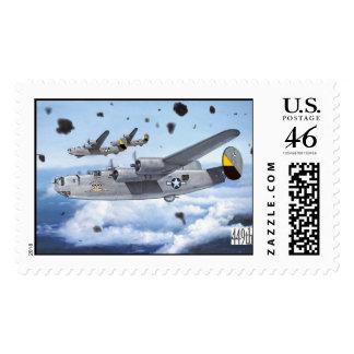 B24 Liberator Postage Stamps