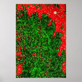 b254 leavesontree-pastel2b-copya póster