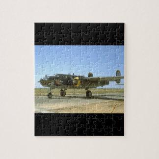 B25, Heavenly Body._WWII Planes Jigsaw Puzzle