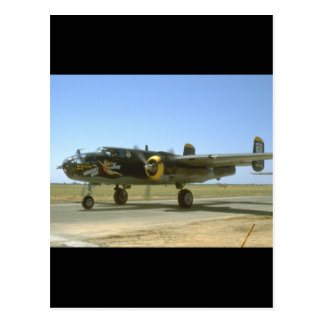 B25, Heavenly Body._WWII Planes Postcard
