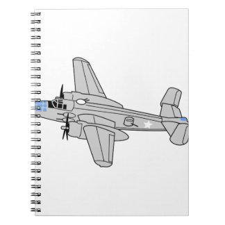 B25 Mitchell Notebook