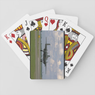 B25 Taxiing. (plane;b25_WWII Planes Playing Cards