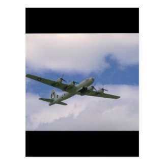 B29, Blue Sky And Clouds_WWII Planes Postcard