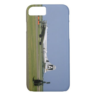 B29 On Runway. (plane;b29_WWII Planes iPhone 8/7 Case