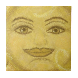 B2 - Sunface Mural, Center - B2 Tile