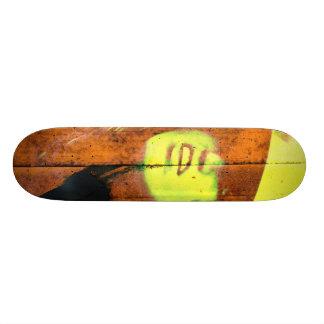 B2B2010 Badgirl4 Good Orange Skateboard